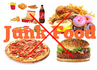 avoid junk foods for weight loss