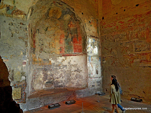 Afrescos na Basílica de Santa Maria Antiqua, Fórum Romano