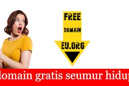 Domain Gratis Seumur Hidup