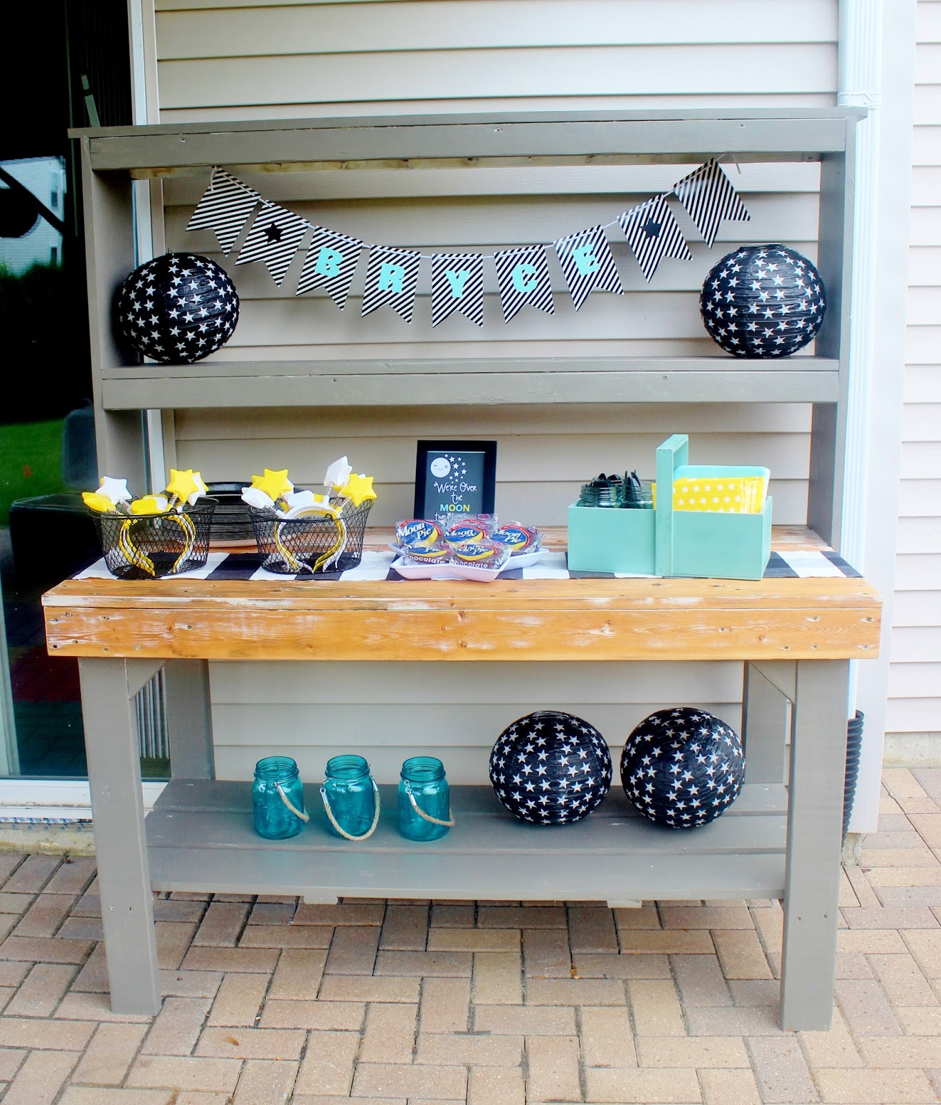 The Potting Bench Makeover Amp A Peek At Little B S Birthday