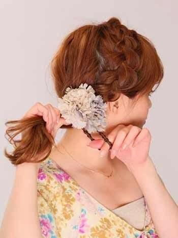 10 Cara Mengikat Model Rambut Pendek Sebahu atau Panjang ...