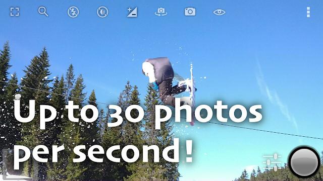 تطبيق لالتقاط صور فائقة السرعة