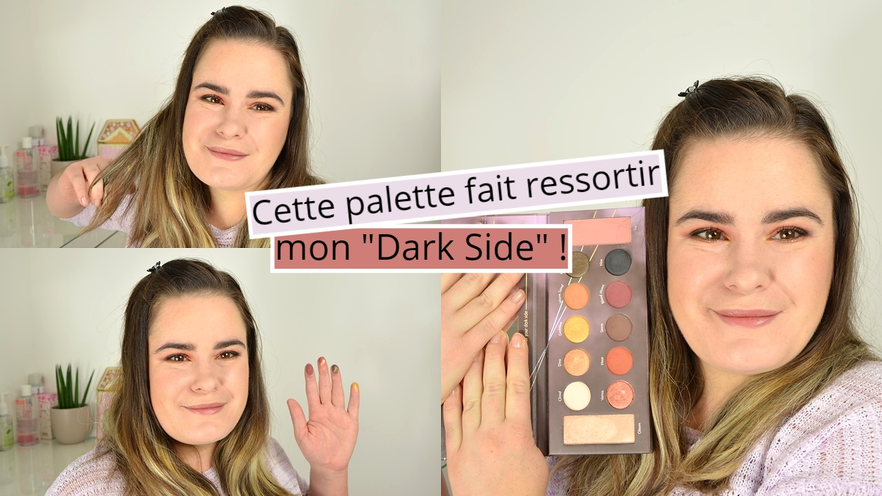 je teste BH cosmetics mrs bella the dark side