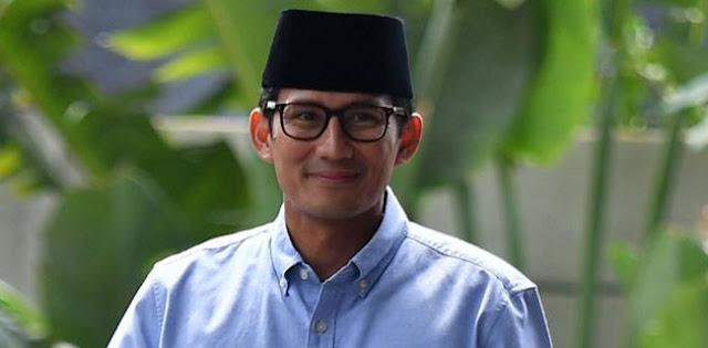 Meski Gerindra Merapat Ke Jokowi, Sandiaga Uno Lebih Elok Tetap Di Luar Pemerintahan