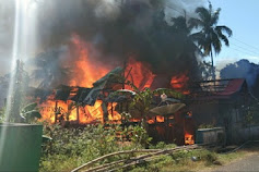 Sehari Setelah Lebaran, Kebakaran Terjadi di Bontona Saluk