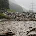 بسبب سوء الأحوال الجوية : انهيار طيني يهدد جسر ضخماً بمقاطعة كارنتن النمساوية