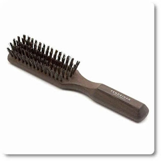12 Fendrihan 5 Row Thermowood Ash Hairbrush with Boar Bristles