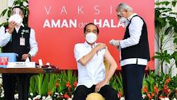 Jokowi Jadi Orang Pertama Disuntik Vaksin, Beri Angin Segar Bagi Dunia Usaha