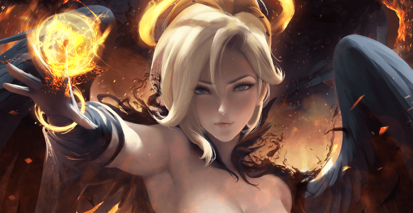 Dark Mercy - SakimiChan - Overwatch [Wallpaper Engine Free]