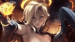 Dark Mercy - SakimiChan - Overwatch [Wallpaper Engine Free]