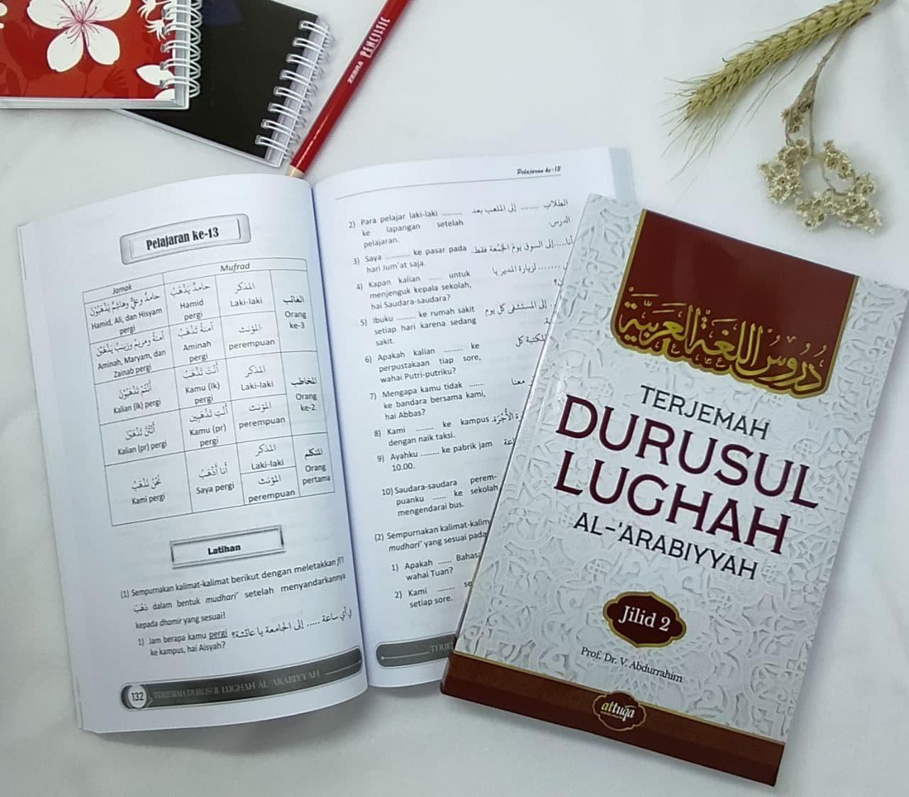 Buku Terjemah Durusul Lughah Jilid 2 Attuqa (1)