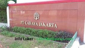 Lowongan Kerja PT Cahaya Jakarta