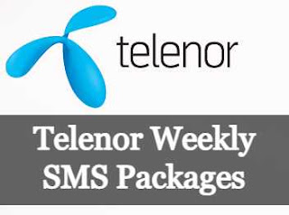Telenor Weekly SMS Packages