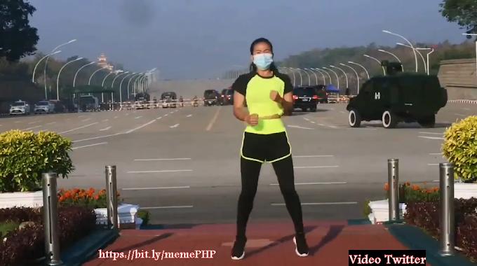 Lagu Bang Jago Go International - Video Viral Wanita Joget Aerobik Ampun Bang Jago