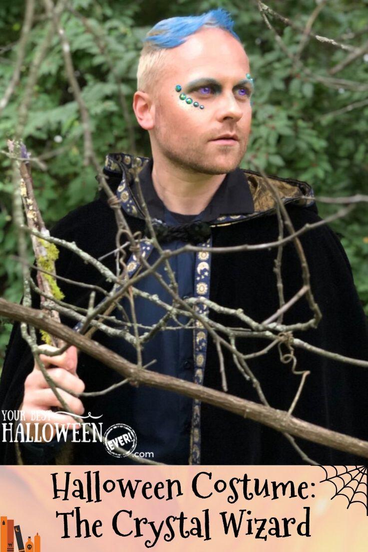 crystal wizard halloween costume