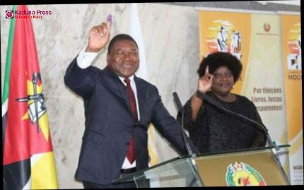 Shugaba Nyusi Na Kasar Mozambique Ya Sake Darewa Kan Kujerar Shugabancin kasar