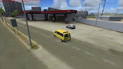 Follow Me car, Gibraltar on FSX