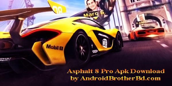 Asphalt 8 Pro Apk Download
