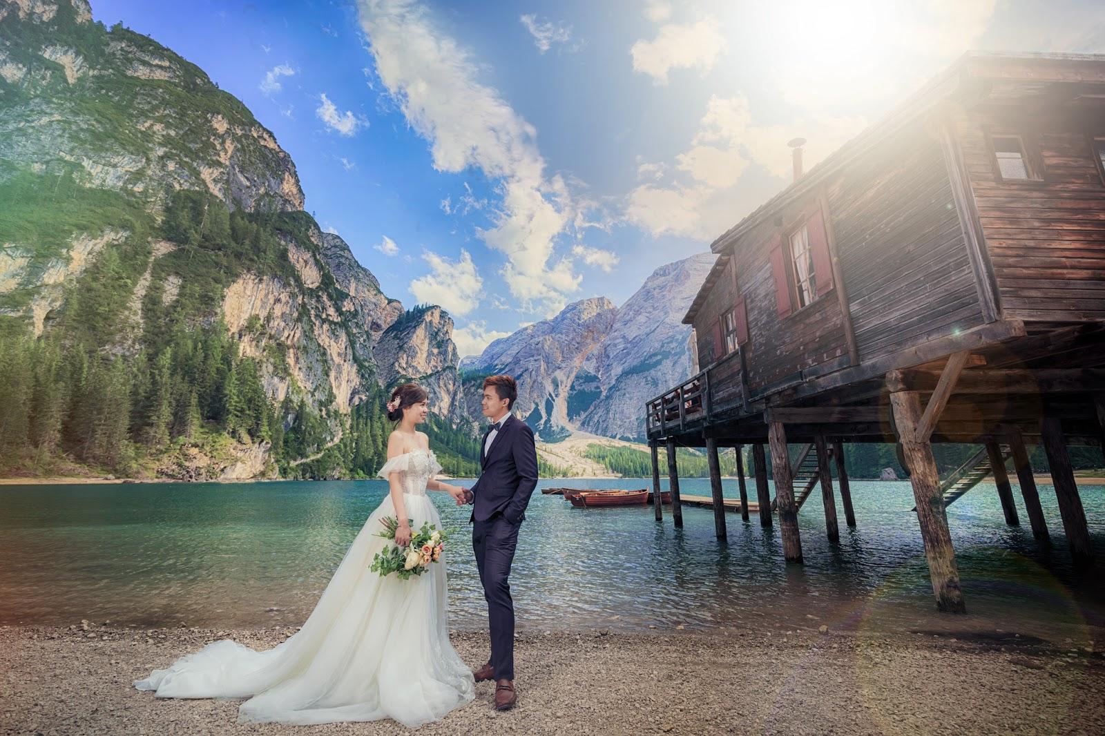多洛米蒂婚紗 富內斯 Val di Funes 仙境婚紗 Dolomiti婚紗 義大利婚紗 Bolzano 波扎諾 威尼斯婚紗 米蘭羅馬