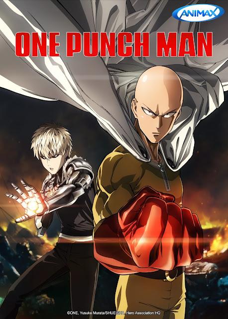 Film Geek Guy - Animax - One Punch Man