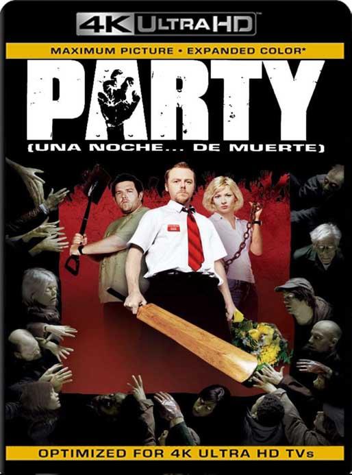 Muertos de risa (Shaun of the Dead) (2004) 4K 2160p UHD [HDR] Latino [GoogleDrive]