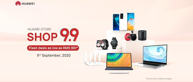 4 Reasons Why You Can't Miss the Shop 9.9 Super Sale on HUAWEI Store