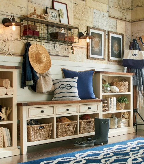Nautical Entryway Styling