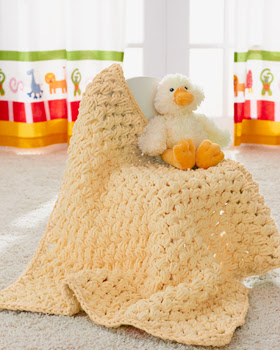 Bernat (Not Just for) Baby Blanket - Vickie Howell