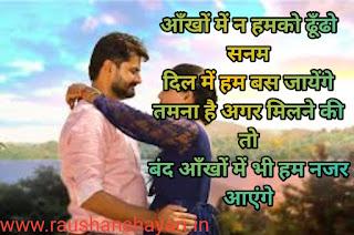 14th Feb Happy Valentine Day Shayari, Romantic Valentine Love Wishes for BF GF in Hindi Language