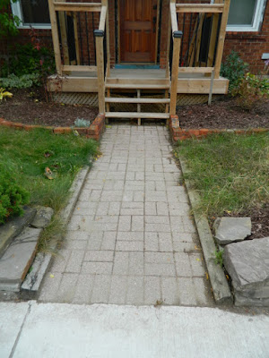 East York Toronto Front Garden Fall Cleanup After by Paul Jung Gardening Services--a Toronto Gardening Services Company