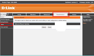 d link router password change in hindi