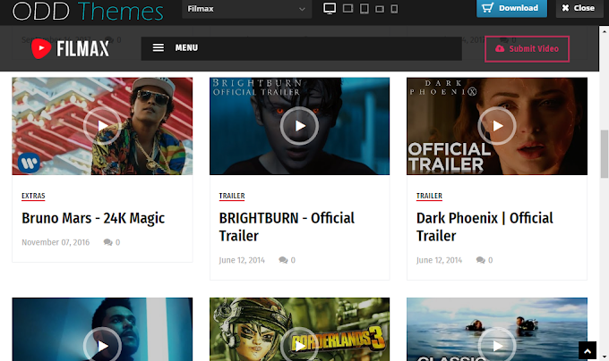 Filmax Movie Blogger Template | Download Premium free