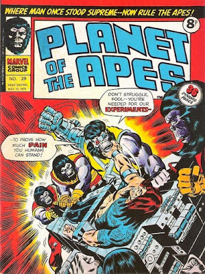 Marvel UK, Planet of the Apes #29, Apeslayer