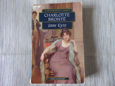 Much read paperback of Jane Eyre