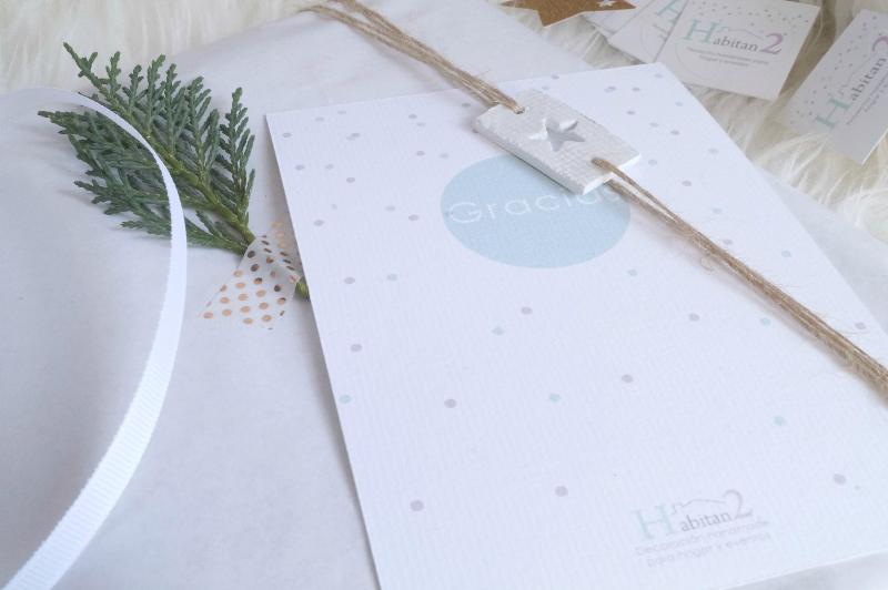 Inspiración para empaquetados navideños by Habitan2 | Ideas para envolver regalos en Navidad | Packaging handmade bonito para regalar en Navidad | La mejor agenda personalizada