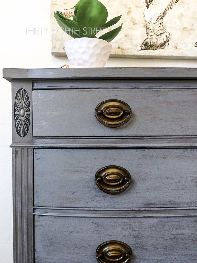 knockoffs, faux zinc painting technique, diy restoration hardware look, faux zinc dresser, restoration hardware style