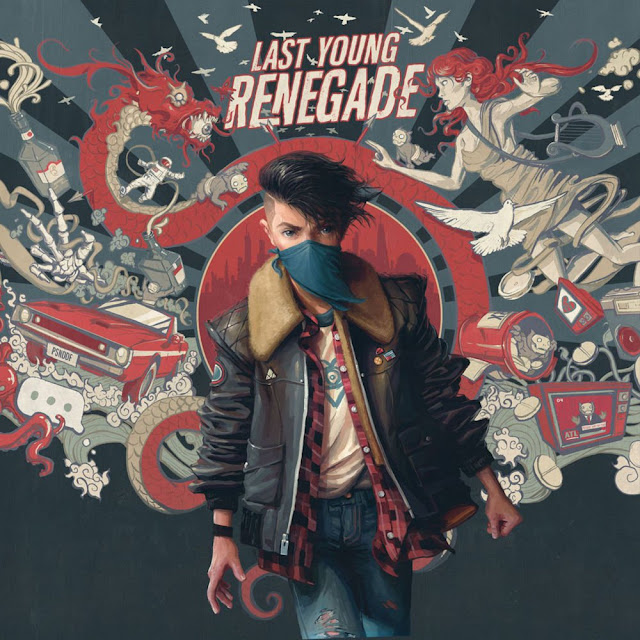Album cover art work for Last Young Renegade: All Time Low