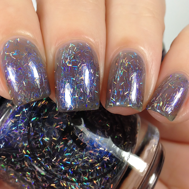 77 Lacquer-Holo There, Cosmic Cruiser