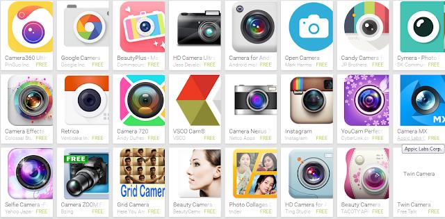 Aplikasi Selfie Terbaik Android