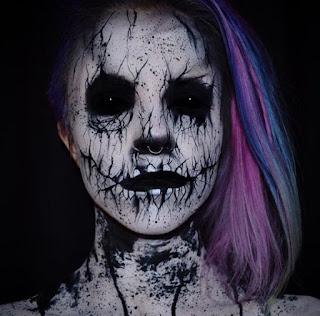 Halloween, Maquillaje Original