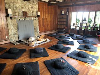 The Zendo at the Zen Center, Deep Spring Temple
