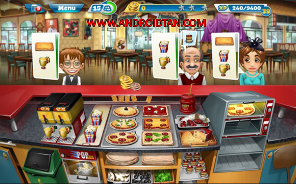 Cooking Fever Mod Apk Gems/Coins