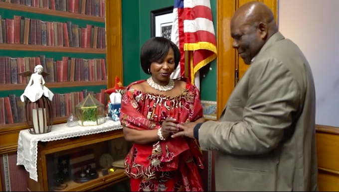 Actress, Kyeiwaa marries Micheal Kissi Asare in the US