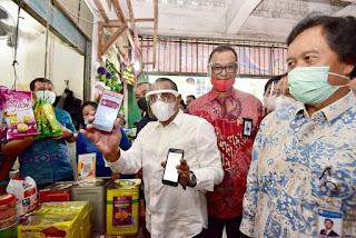 Belanja di Pasar Tanpa Harus Bawa Uang, Gubernur Sumut Apresiasi Program Digitalisasi Transaksi Bank Sumut
