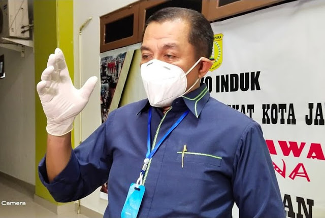 Rustan Saru Ungkap Pasien Positif COVID-19 di Kota Jayapura Jadi 92 Orang