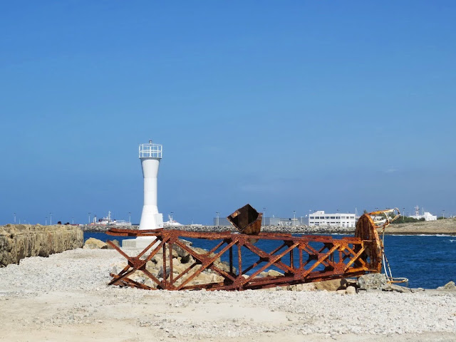 Day trip to North Cyprus: Rusty Tower near Kyrenia Harbour