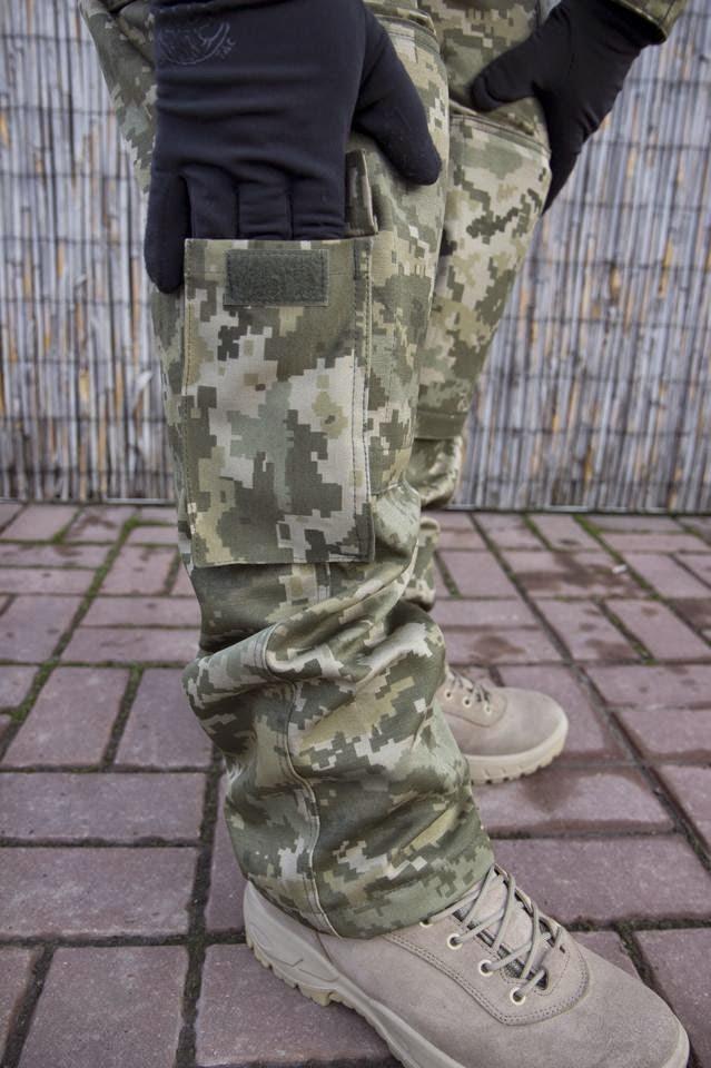 польова форма 2015 - штани кишеня нижня