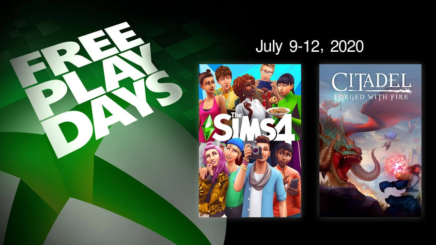 the sims 4 citadel forged with fire xbox live gold free play days event