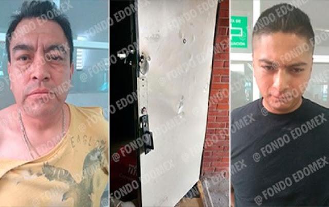 Detienen a policía federal y a su cómplice cuando saqueaban una casa