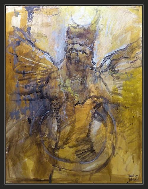 ASIRIA-DIOSES-ARTE-PINTURA-ANUNNAKI-ENLIL-PERSONAJES-HISTORIA-RELIGION-RETRATOS-PINTURAS-PINTOR-ERNEST DESCALS
